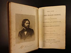 1856 1ed Explorations of John C Fremont Native American Indians California West: Charles Wentworth ...