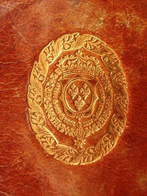 1708 Armorial Binding of KING LOUIS XV Royal Provenance Catholic Liturgy Paris: Catholic Church
