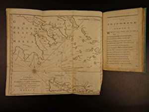 1772 The Shipwreck by William Falconer Scottish Poetry Ships MAPS Nautical Trade: William Falconer;...