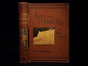 1887 Natural Science Gibson Geology Illustrated Fossils Diamond Mining Meteors: John Gibson