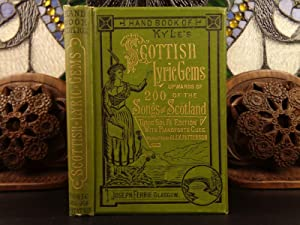 1890 1st ed Kyle's Scottish Lyric Gems: KYLE, Morison.