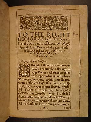 1631 Owen Feltham Resolves English Essays Gender Equality Literature Politics: FELTHAM, Owen.