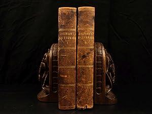 1783 Samuel Johnson FAMOUS Dictionary of English: JOHNSON, Samuel.
