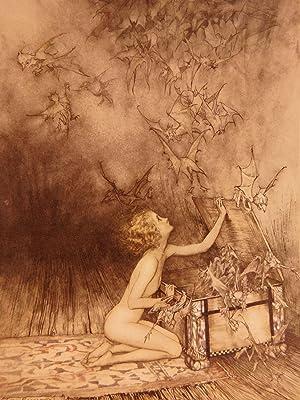 1922 Wonder Book Nathaniel Hawthorne Greek Mythology: HAWTHORNE, Nathaniel