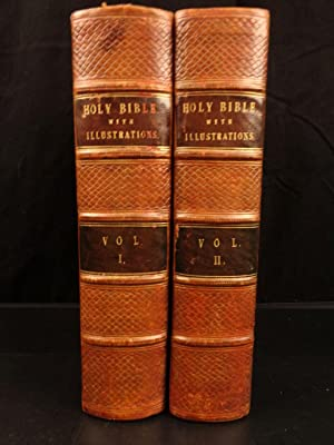 United Large 1835 Antique Holy Bible **professionally Restored** Beautiful Finely Processed Manuscripts