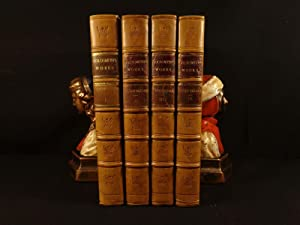1854 Works of Oliver Goldsmith Vicar of Wakefield English PLAYS Theatre 4v SET