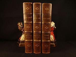 1848 Jean Baptiste SAY Economics Finance Supply