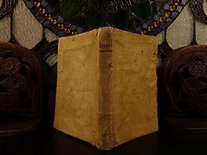 L'Amoroso Conuiuio di Dante, con la additione,: Dante Alighieri
