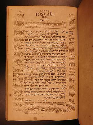 1720 HEBREW BIBLE Biblia Hebraica of Michaelis German Protestant Orphanotrophei: MICHELIS, Johann ...