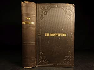 1853 Constitution of United States Declaration of Independence Hickey Americana: United States