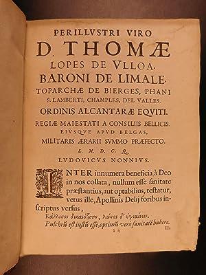 1646 RARE Diaeteticon Nonnius Diet Food Prep WINE Fish Hygiene & Health Medicine: NONNIUS, ...