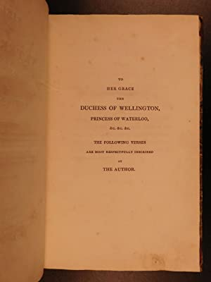 1815 1st ed The Field of Waterloo Walter Scott Poem Napoleon England WAR Poetry: SCOTT, Walter