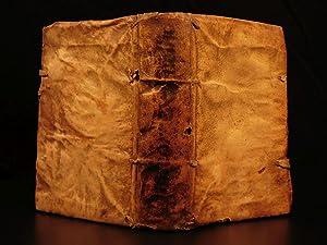 1626 Dioscorides Materia Medica Greek Medicine Herbal: DIOSCORIDES, Pedanius