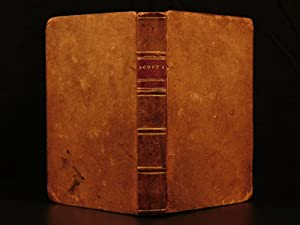 1836 Letters on Demonology Witchcraft WITCHES Devil: SCOTT, Walter