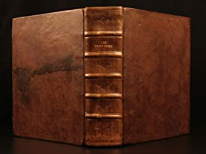 1760 Holy Bible Thomas Baskett Book Common: Bible