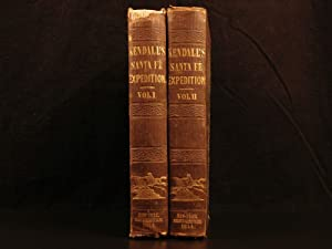 1844 1st ed TEXAS Narrative of Texan Santa Fe Expedition Trade Routes Mexico: KENDALL, George ...