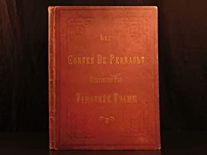 1865 HUGE & EXQUISITE Charles Perrault Fairy Tales Illustrated Cinderella Trimm: PERRAULT, ...