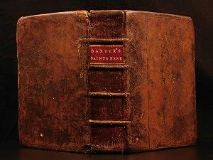 1662 Saints Everlasting Rest Richard Baxter PURITAN: BAXTER, Richard