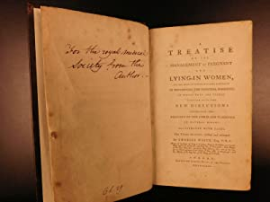 1785 SIGNED Treatise on Pregnancy Charles White Science of RACISM Birth OBGYN Medicine: WHITE, ...