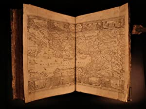 1736 Basel Switzerland German BIBLE Martin Luther Illustrated MAPS Thurneysen: LUTHER, Martin