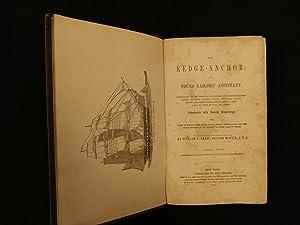 1864 NAVY Kedge Anchor Sailor s Manual Navigation Illustrated SHIPS Civil War ed: BRADY, William N