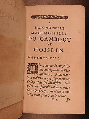1697 History of Inquisition of GOA Portuguese INDIA Catholic Dellon Torture: DELLON, Gabriel