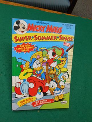 Walt Disneys Supper Sommer Spaß. Nr. 2. Das tolle Comic & Rätsel Paket! 30 Seiten Spiel- und Rätselspaß. Über 160 Seiten brandneue Comics.