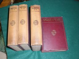 Sämtliche dramatische Werke in zwölf Bänden [4 Büchern]. Übersetzt von ...