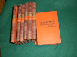 Bibliothek der Unterhaltung und des Wissens. 58. Jahrgang. 1934. Acht Bände von 13 Bänden...