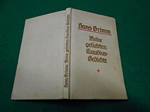 Meine geliebten Claudius-Gedichte<. Auswahl aus den Versbüchern von Hermann Claudius.: ...