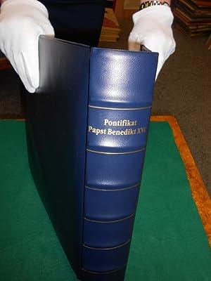 Luxus Sammelalbum: 29+ 1 Sonder- Albumblätter der Sammlung >Pontifikat Papst Benedikt XVI.&...