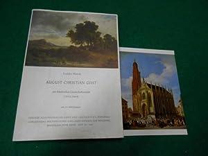 August Christian Geist, ein fränkischer Landschaftsmaler (1835 - 1868). Aus der Reihe: Mainfr&...