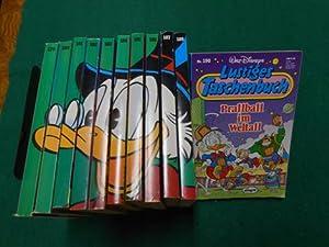 Lustiges Taschenbuch<. Serie Band 179 -190. Rückenbild: Dagobert mit Hut.: Disney, Walt: