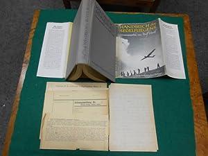 Handbuch des Segelfliegens. Herausgegeben von Wolf Hirth und mit einem Geleitwort versehen vom ...