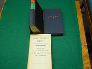 Shakespeares Werke. 3 Bde. Mit ausführlichen Anmerkungen. Unter Förderung durch die ...