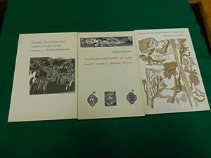 Philobiblon<. 4. Jahrgang. 1., 3 und 4. Heft, (Nr.2 fehlt!). Eine Vierteljahrsschrift für ...