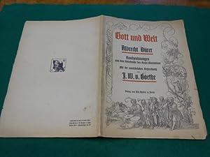 Gott und die Welt<. Randzeichnungen aus dem Gebetbuche des Kaiser Maximilian. Mit der ausfü...