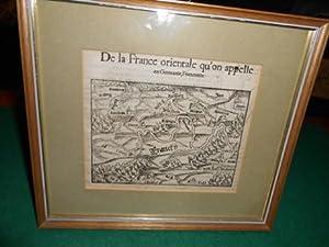 De la France orientale, qu'on appelle en Germanie, Franconie<. [Mittel- und Unter- Franken]...