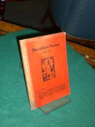 Oberpfälzer Heimat. 1. Band - 1956. Beiträge zur Heimatkunde der Oberpfalz, herausgegeben...