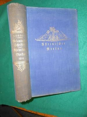 Rheinischer Merkur<. 1. Band 1814 Aus der Reihe: Joseph Görres Gesammelte Schriften 6. bis ...