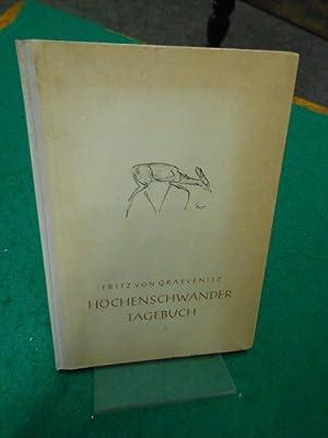 Höchenschwander Tagebuch. >Meiner Schwester Marianne gewidmet< im Andenken an ihren Sohn...