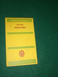 Heitere Welt<. Sieben Geschichten. Aus der Reihe: Die kleine Bücherei Nr. 64.: Ernst, Paul: