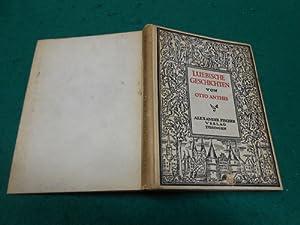 Lübische Geschichten<. Den Buchschmuck zeichnete Willi Harwerth.: Anthes, Otto und Willi ...