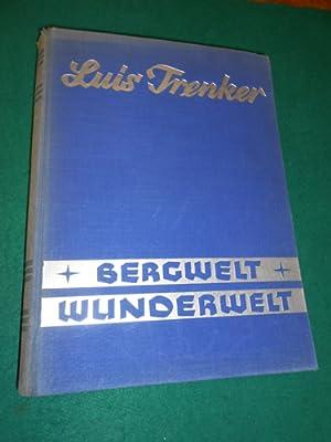 Bergwelt - Wunderwelt<. Eine alpine Weltgeschichte. Herausgegeben unter Mitwirkung von Walter ...