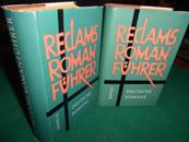 Reclams Romanführer. 2 Bde. [Leinen-Ausgaben]. Bd. 1: Deutsche Romane und Novellen von ...