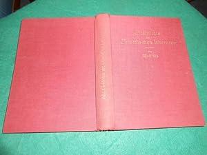 Geschichte der griechischen Literatur. Aus der Reihe: Die Handbibliothek des Philologen, Sammlung ...