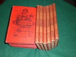 Bibliothek der Unterhaltung und des Wissens. Jahrgang 1900. Komplett in 13 Bänden.