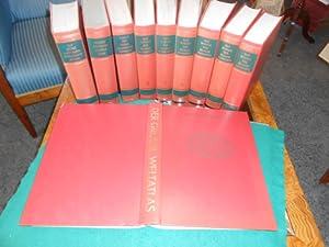 Das Wissen des 20.Jahrhunderts. 9 Bände + 1 Atlas. Das große illustrierte ...