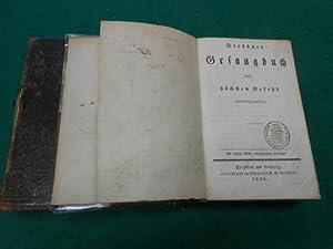 Dresdner Gesangbuch<. Auf höchsten Befehl herausgegeben. Mit königlich Sä...