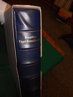 Luxus Sammelalbum: 31 Sonder- Albumblätter der Sammlung >Pontifikat Papst Benedikt XVI.<...